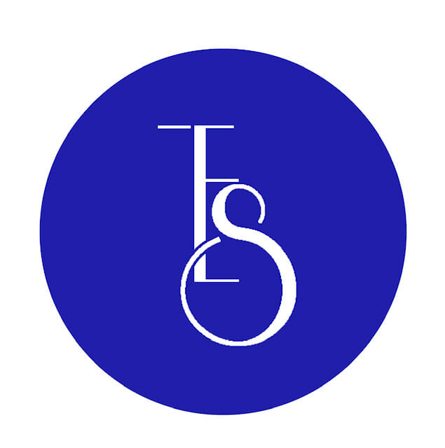 tes logo blue round - About Us