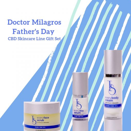 Doctor Milagros Fathers Day CBD Skincare Line Gift Set Square 510x510 - Doctor Milagros Father's Day Skincare Line CBD Gift Set
